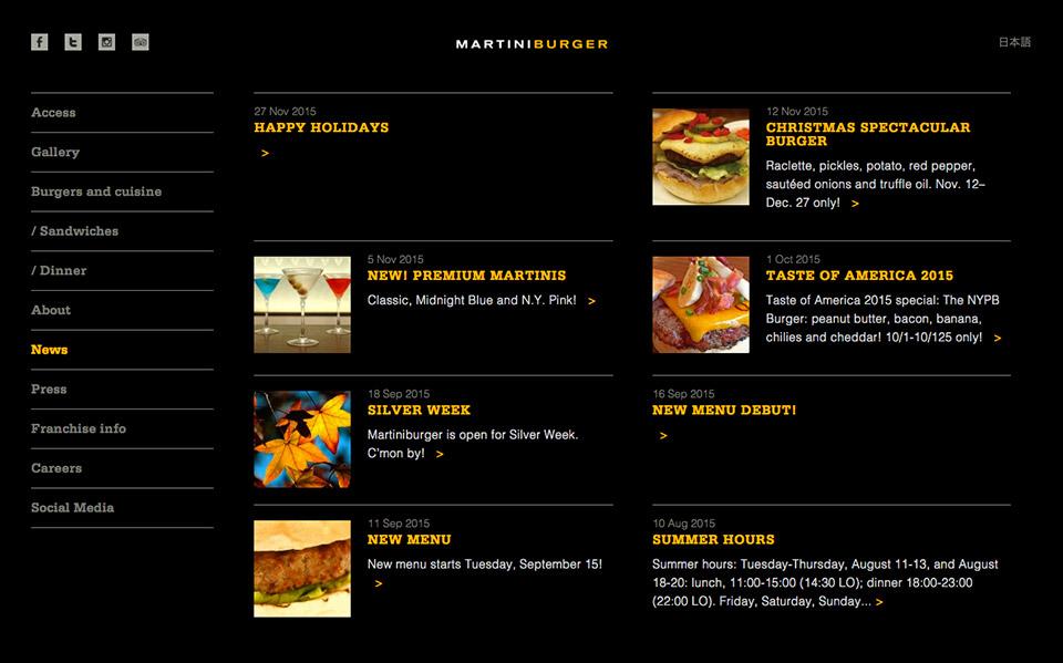 Martiniburger - News Blog