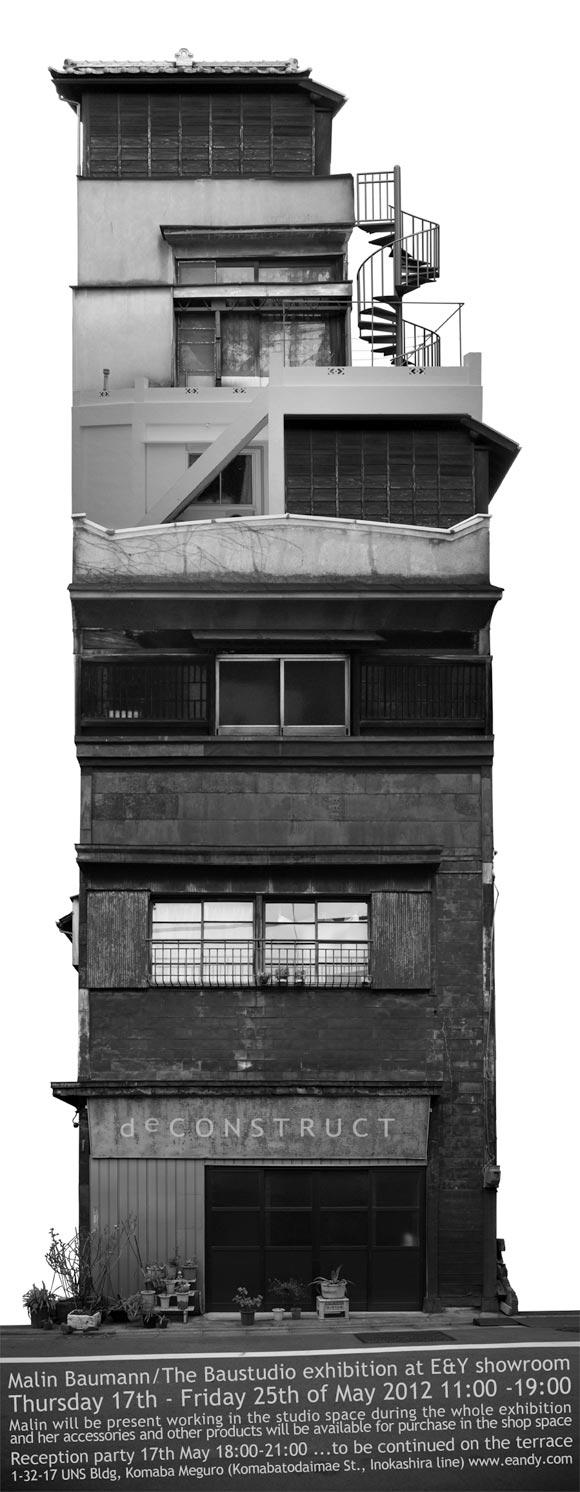 """Malin Baumann / The Baustudio exhibition """"deCONSTRUCT"""""""
