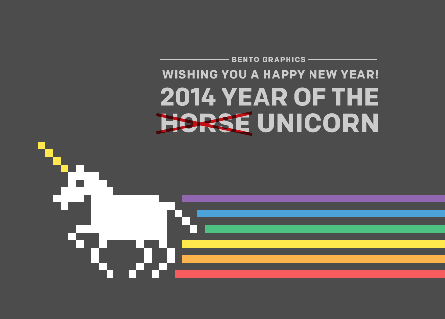 Happy New Year - 2014 Year of the Horse