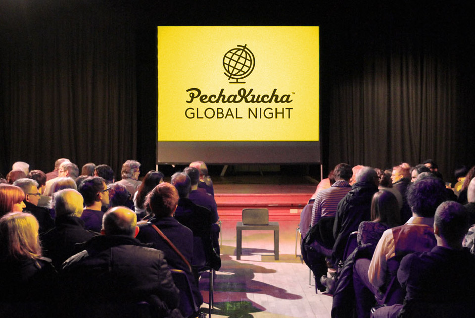 PechaKucha Night - Sample Application of Custom Icon for PK Global Night