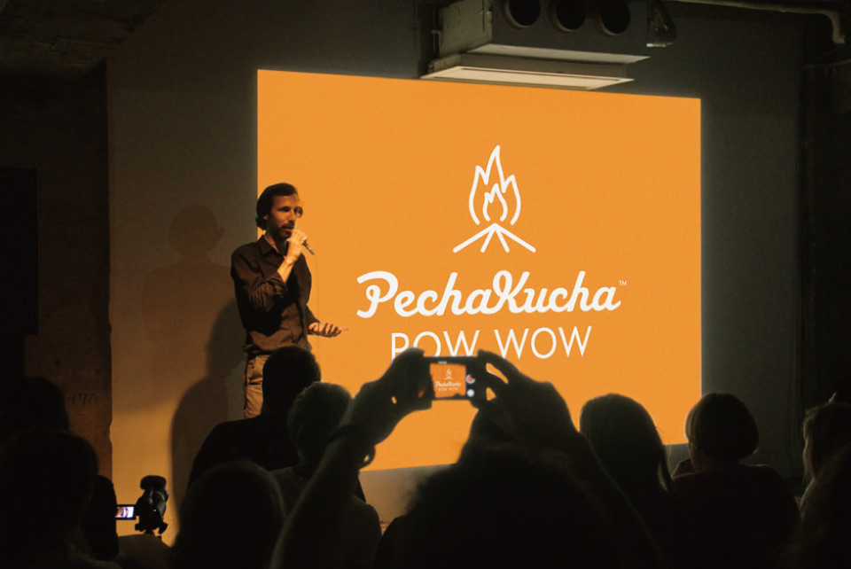 PechaKucha Night - Sample Application of Custom Icon for PK PowWow Japan