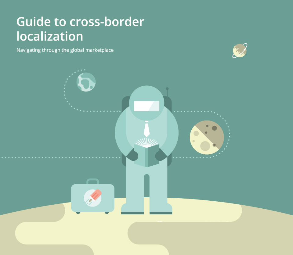 gengo japan human translation service - cross border localization whitepaper illustrations