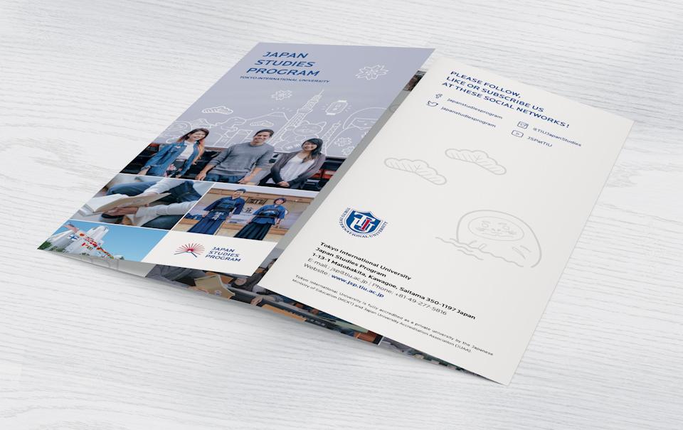 Japan Studies Program for Tokyo International University - Poster and Pamphlet Design