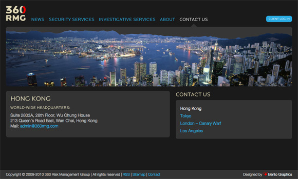 360 Risk Management Group - Contact Page
