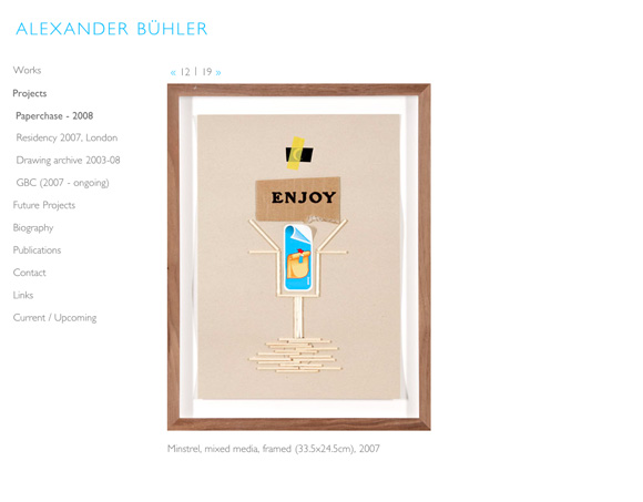 Alexander Bühler - Project Page