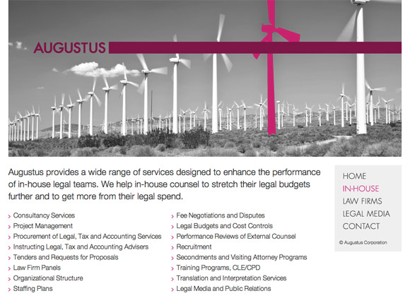Augustus Corporation - Home Page