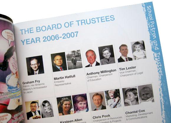 British School Tokyo - Trustees Page