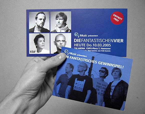 Fantastischen Vier - 02 Music Flash - Hannover 2005