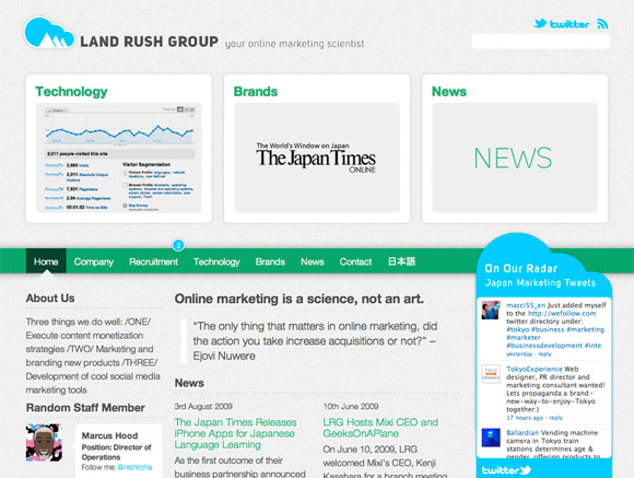 Land Rush Group - Home Page