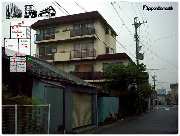 Nippon Domestik - 70`s Japanese Building