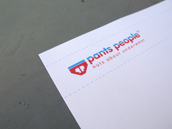 Pants People - Nuts about Pants - Letterhead Header