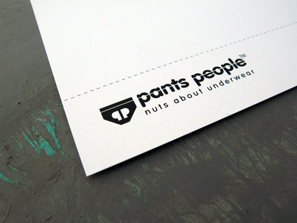 Pants People - Nuts about Pants - Postcard