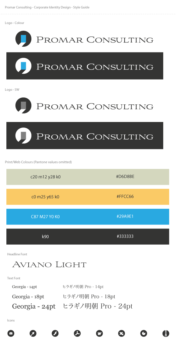 Promar Consulting - Corporate Identity Design