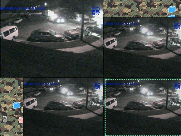 Renana Movie - CCTV Application Screen