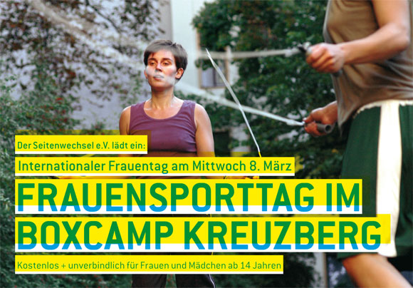 Seitenwechsel e.V Berlin - Flyer