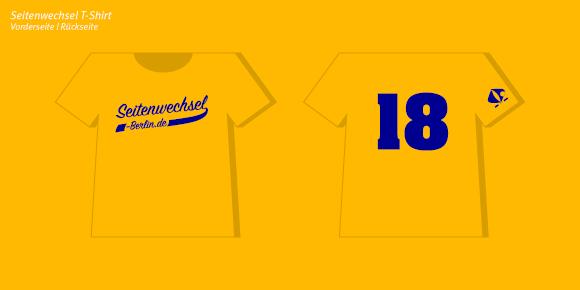 Seitenwechsel e.V Berlin - T-shirt Design