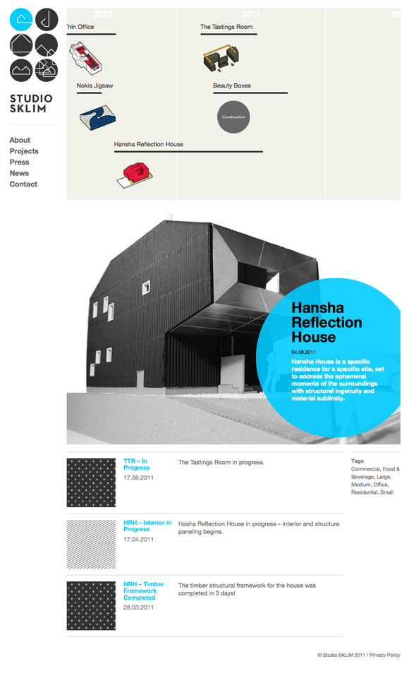Studio Sklim Tokyo/Singapore - Home Page