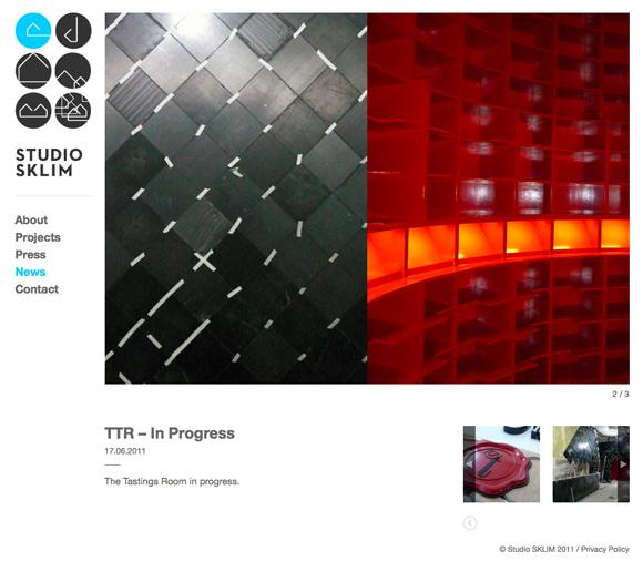 Studio Sklim Tokyo/Singapore - News Detail Page