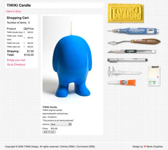 TiWiKi Design Tokyo - E-commerce Online Shop
