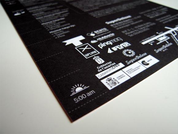 Flyer Design: Minimal Tokyo vs. Uplink