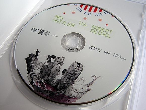 Max Hattler and Robert Seidel DVD - Released on Uplink (Tokyo)