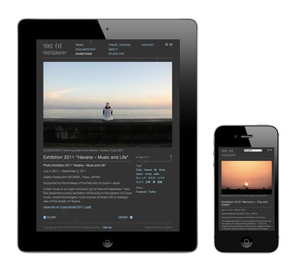 Yoko Yoko Évé - Responsive/Adaptive Web Design