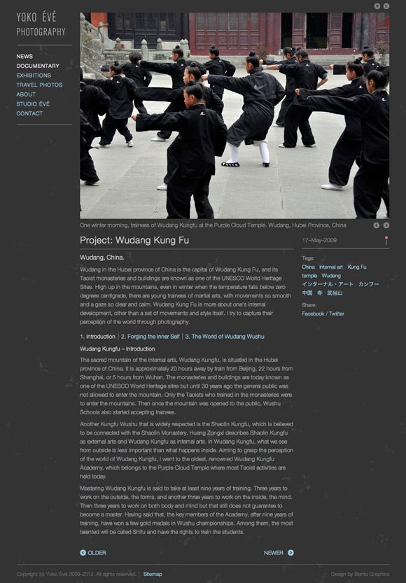 Yoko Yoko Évé - Documentary Project - Detail Page - Slideshow