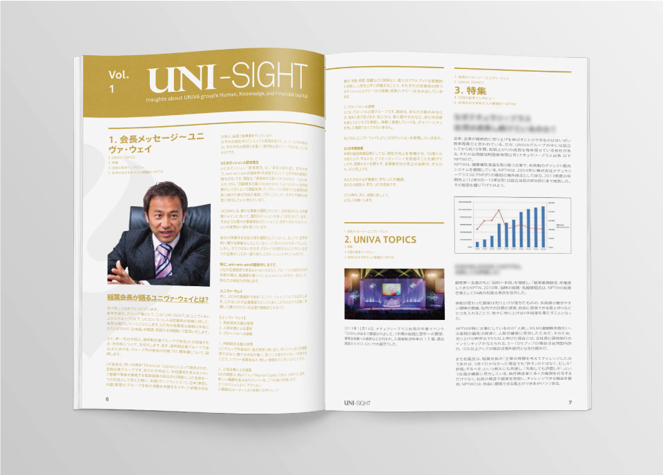 Univa Captial - Yearbook Publication - Print