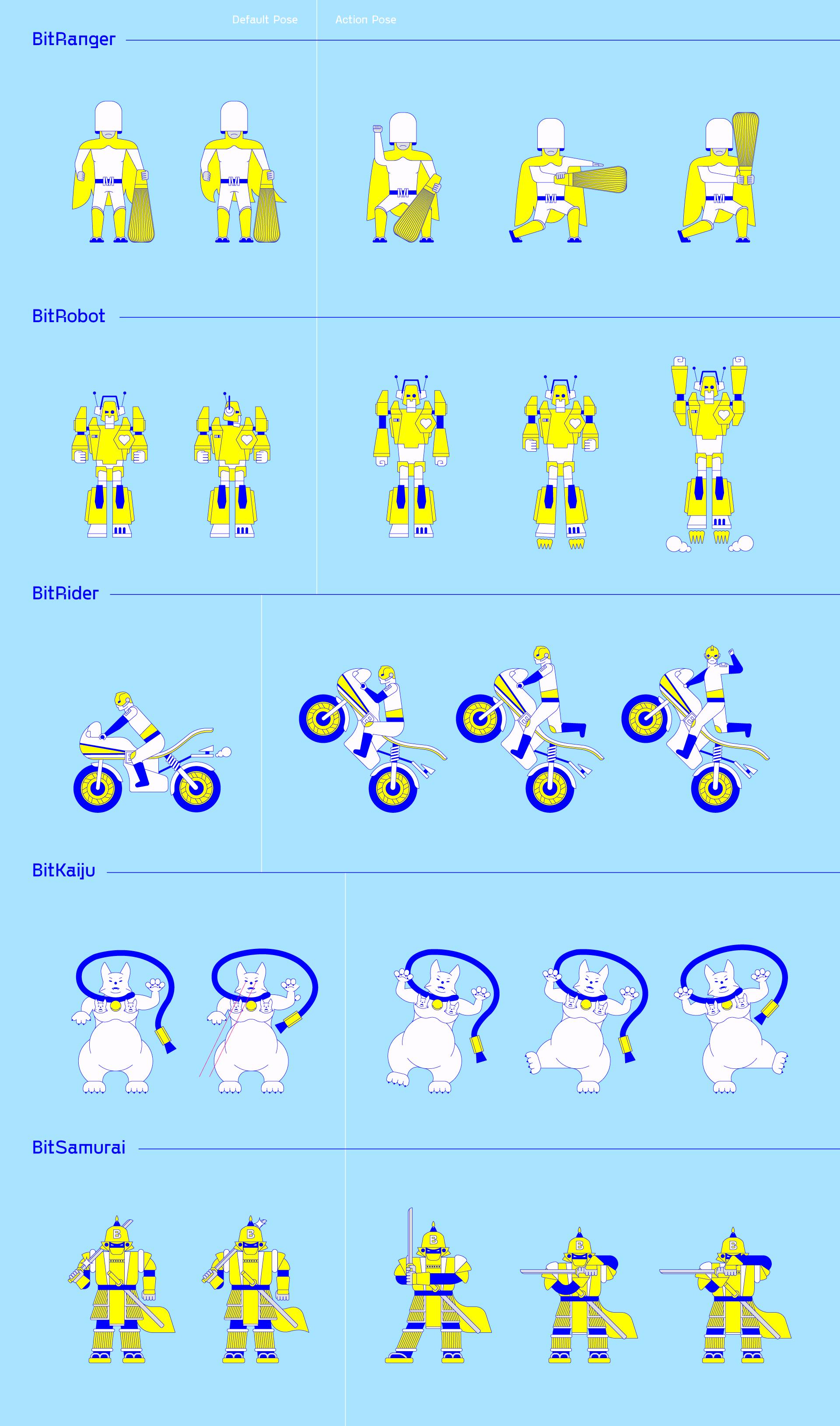 BitSummit Gaiden 2020 - Character Animation Keyframes - Illustration