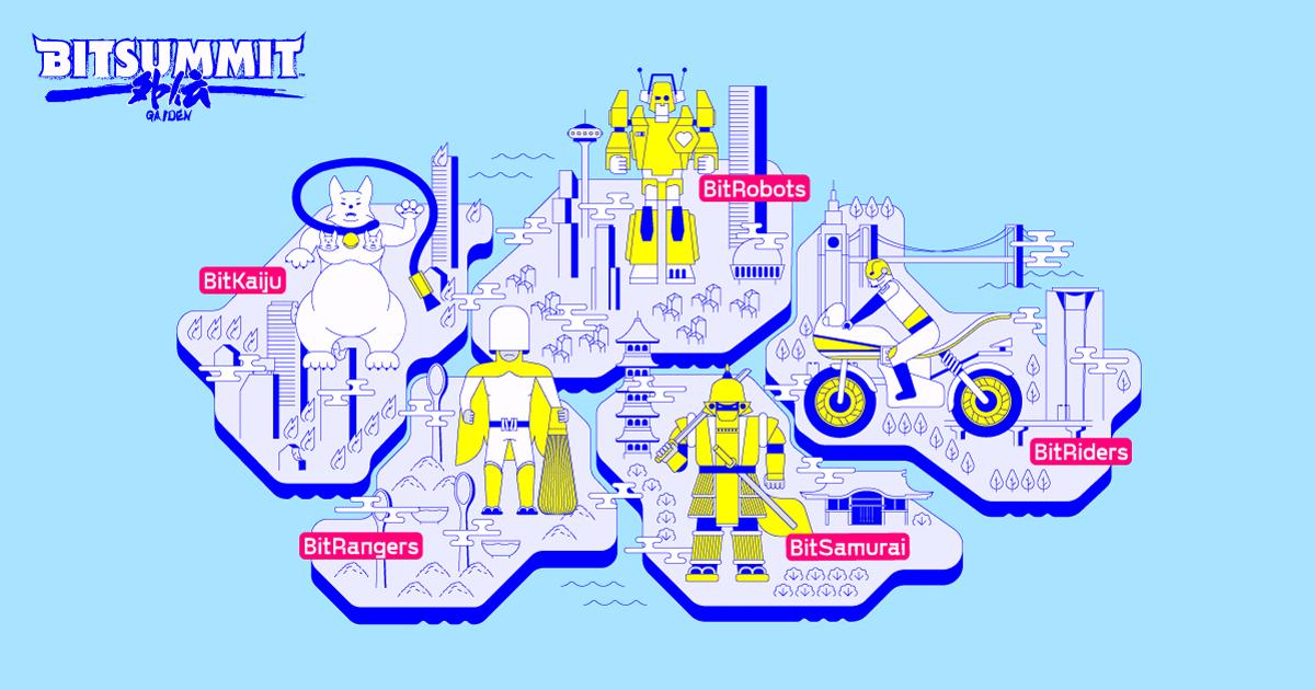BitSummit Gaiden 2020 (Kyoto/Japan) - Online Game Show Map