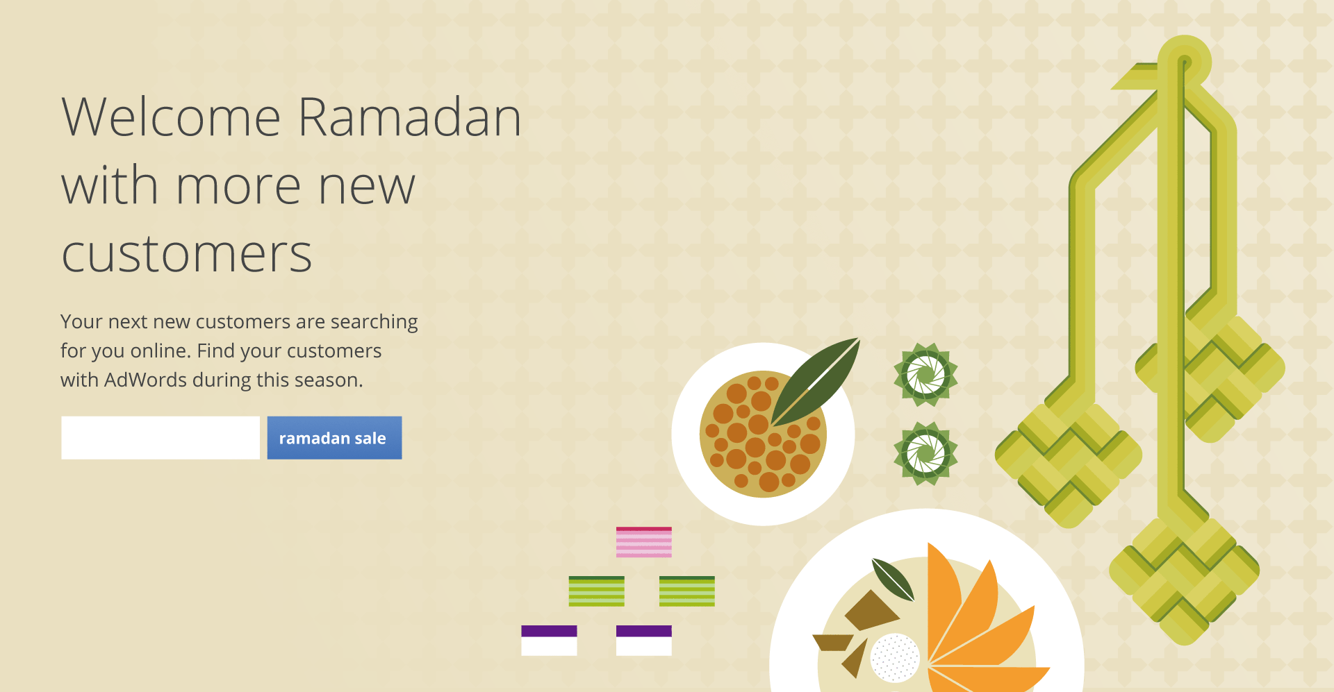 Google Adwords Ramadan Illustrations