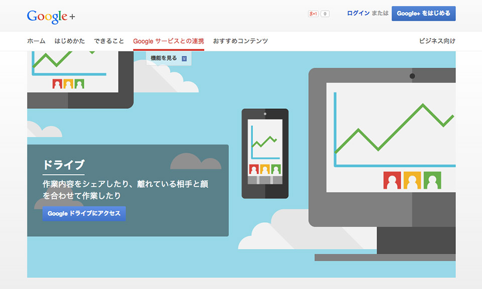 Google Japan - Learn More - Drive